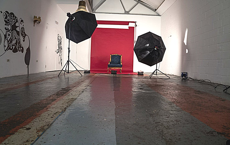Studio 3 **Book Studio 3 - an Exposed Industrial Studio at ChilliCheeze Studios**