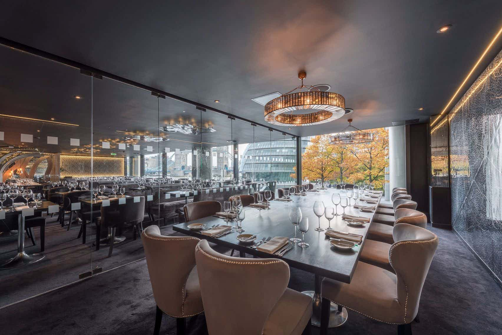 Private Dining Room, Gaucho Tower Bridge
