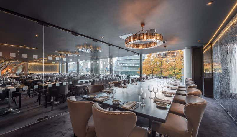 Private Dining Room, Gaucho Tower Bridge