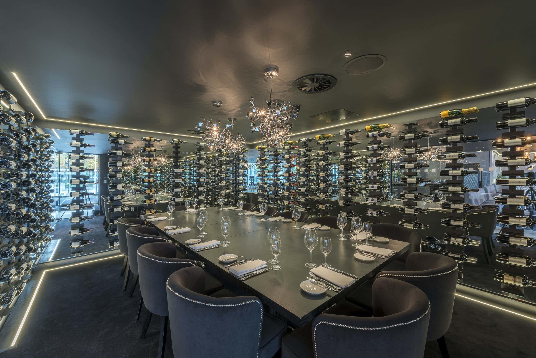 Private Wine Room, Gaucho Tower Bridge