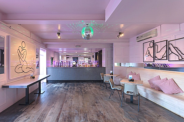 The Studio  **Hire The Studio at The Exhibit for one of the best options for workship venue hire London has to offer!**   Situated behind closed doors on our first floor, The Studio can host a group of up to 60