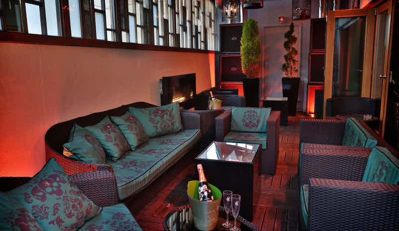 The Rooftop Terrace, Karma Sanctum Soho Hotel