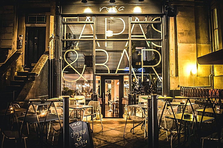 Venue Hire **Hire Rosa Tapas and Bar for a one of a kind corporate event in Bristol!** 