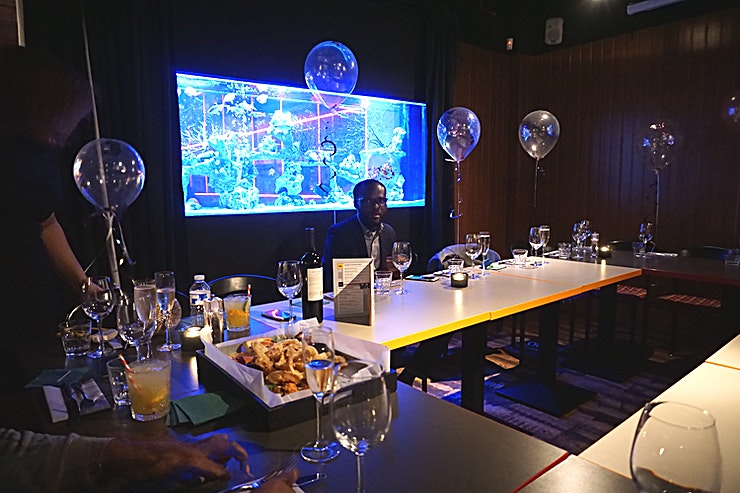 The Dark Room **Fancy making your event that extra bit special? Why not hire the amazing Dark Room? Perfect for a range of events from birthdays, baby showers, engagement drinks and much more!**  Host an intimate