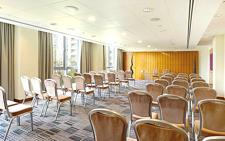 River Room **Canary Riverside Plaza is more than just an elegant 5 star hotel, hire the RIver Room for your next meeting, conference or workshop and host an event in a venue  with the River Thames on our doorstep.**