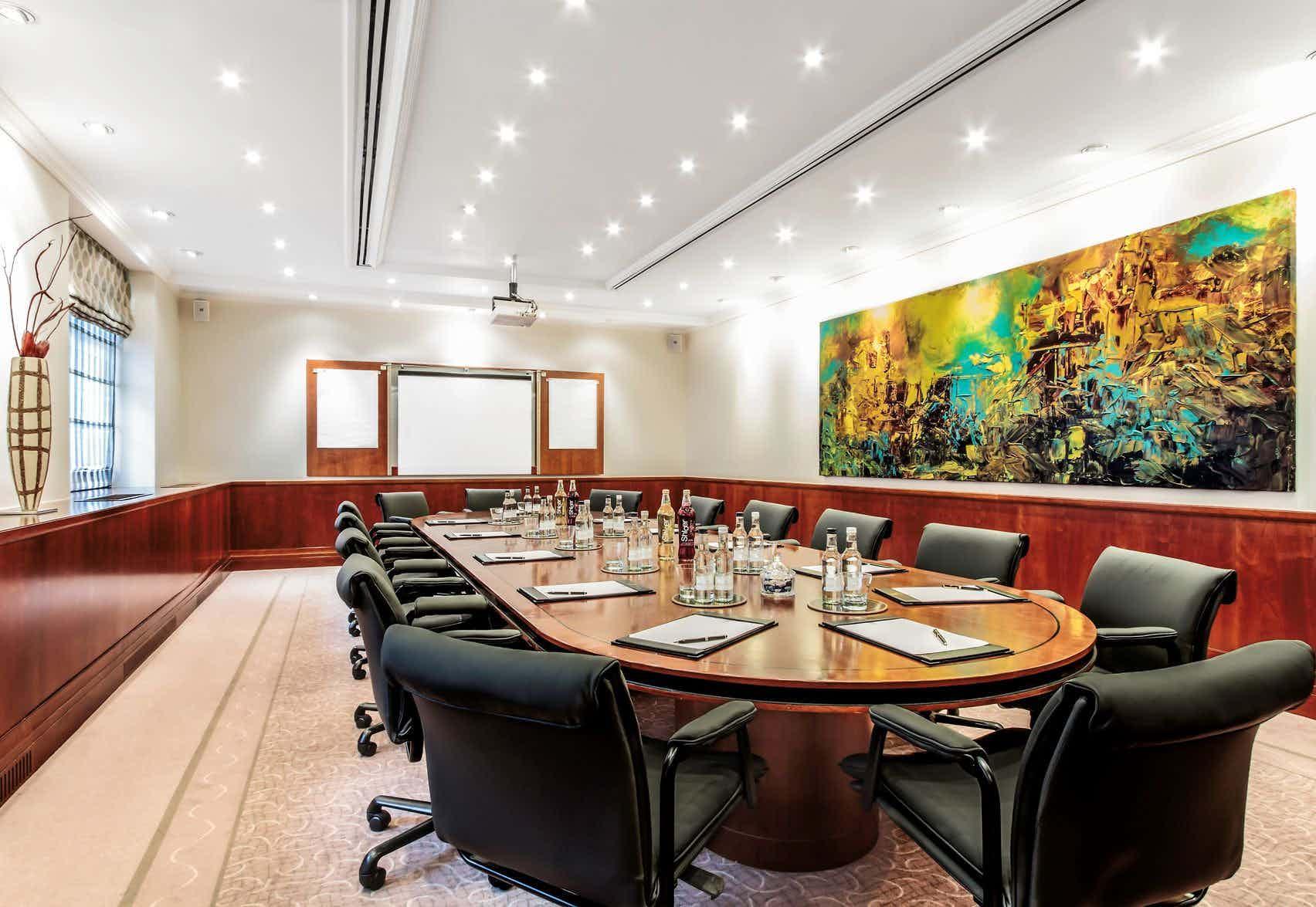 Executive Boardroom, St James' Court, A Taj Hotel