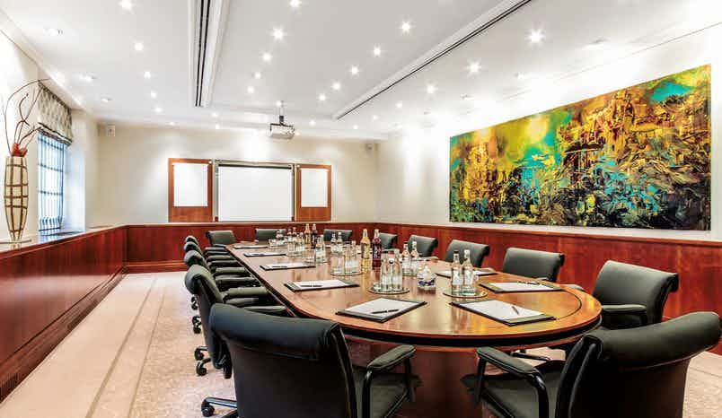 Executive Boardroom, St James' Court, A Taj Hotel