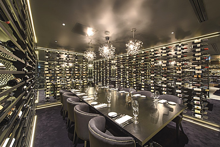 Wine Room **Hire our charming Private Wine Room at Gaucho Birmingham, perfect for private parties.**  Wanting a more intimate vibe, for family, friends or business? The Wine Room at Gaucho Birmingham is a private dining room that is tailor-made for just that.   The Wine Room at Gaucho Birmingham is one of the best options for your next private party - whether that's for a personal event or corporate celebration this is certainly a Birmingham venue hire that ticks all the boxes.