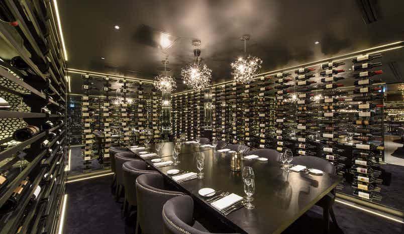 Wine Room, Gaucho Birmingham