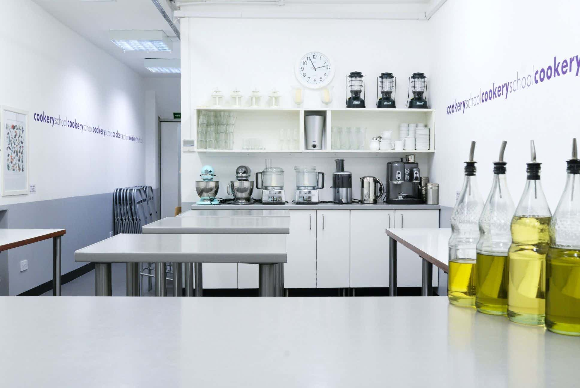 Corporate Cookery, Cookery School at Little Portland Street
