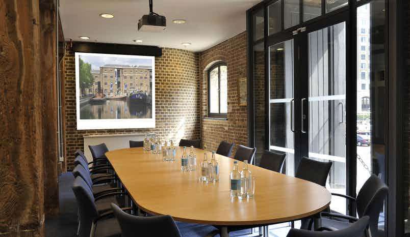 Docklands Boardroom, Museum of London
