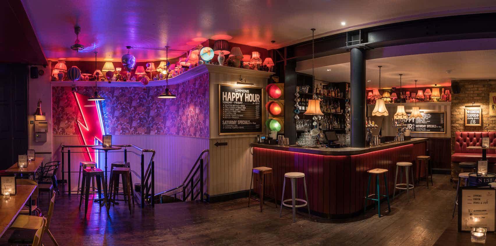 Full Venue Hire, Simmons | Clerkenwell