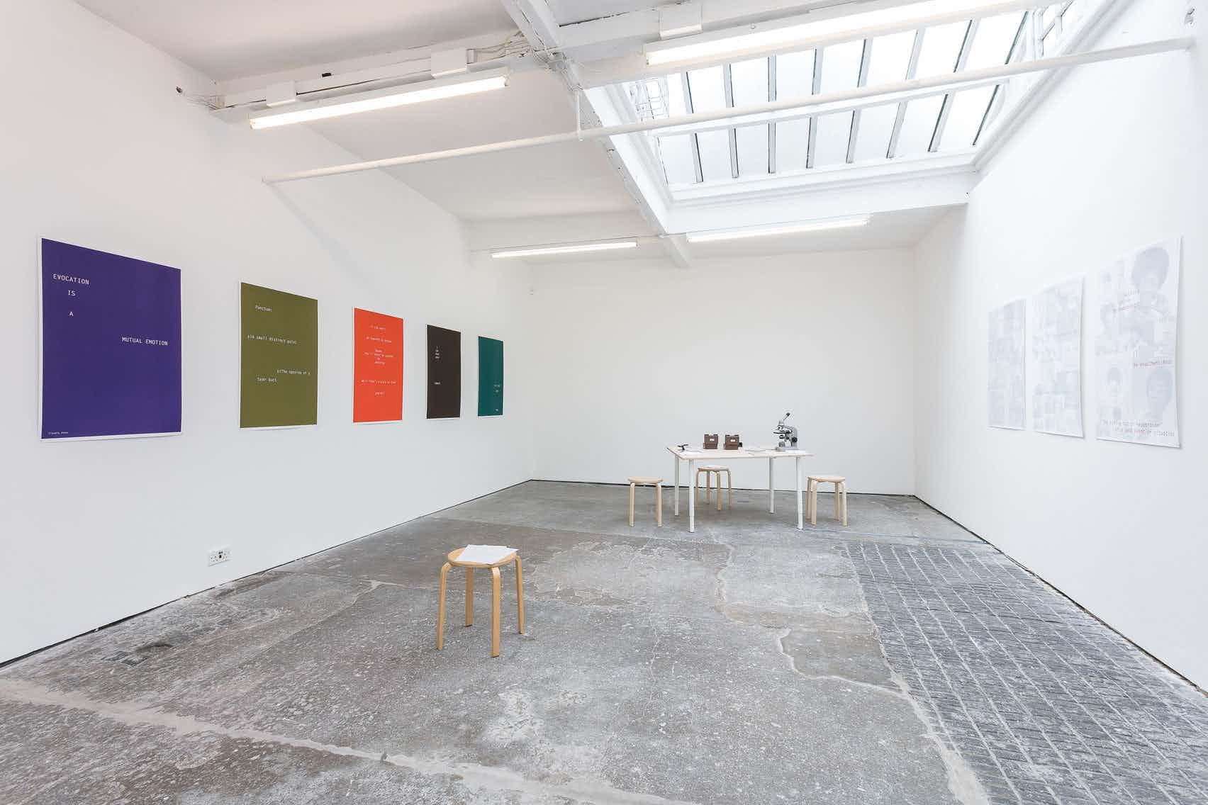 Gallery Space, Cubitt Gallery