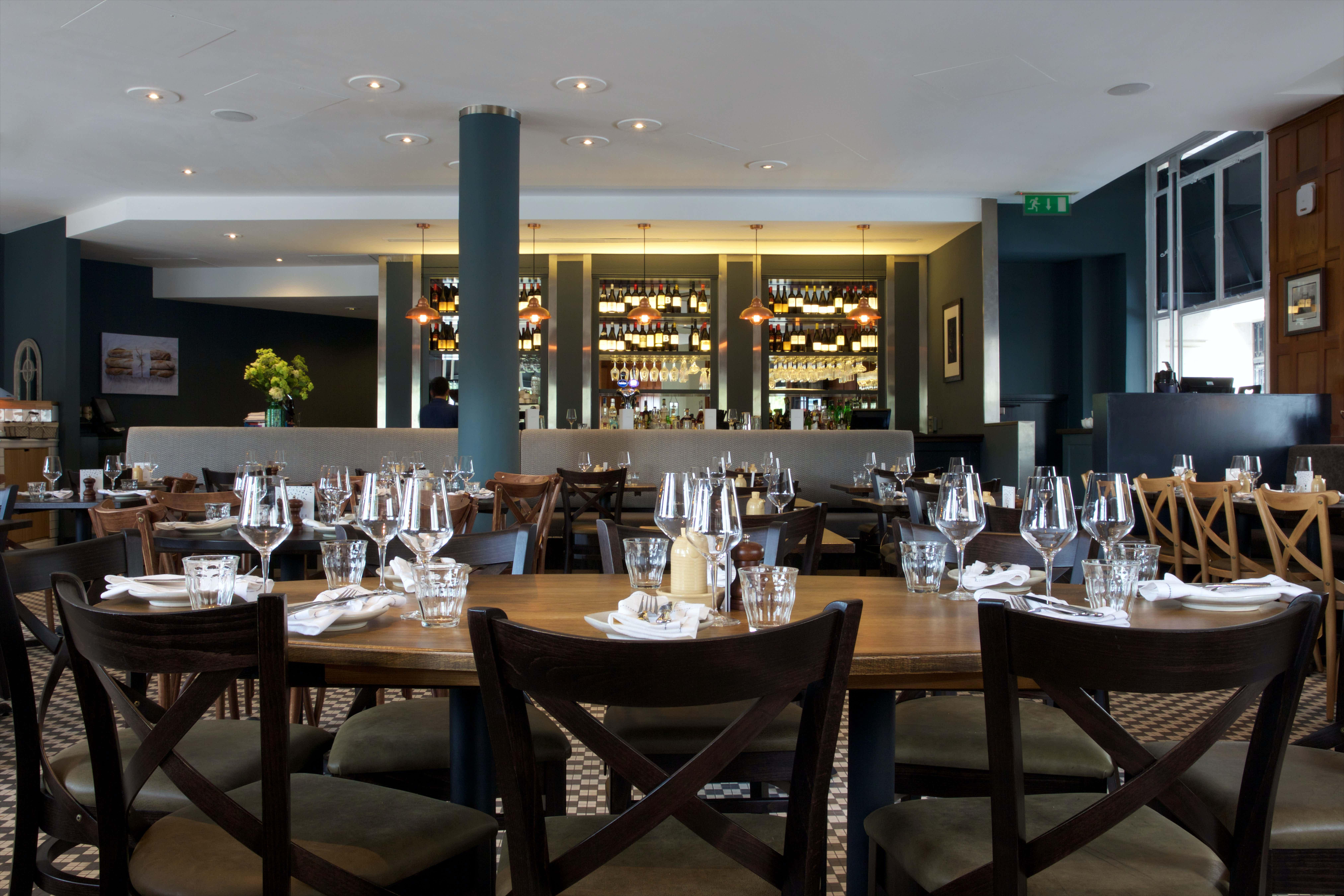 Main brasserie, Brasserie Blanc Tower Hill
