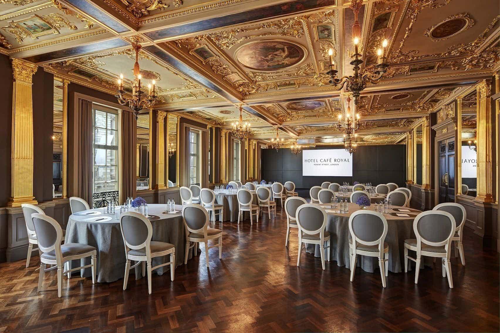 Pompadour Ballroom, Hotel Café Royal