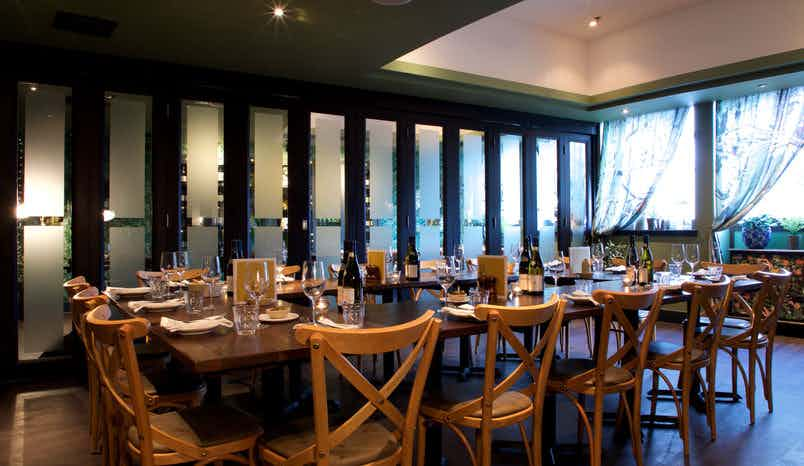 Medium private room, Brasserie Blanc, Southbank