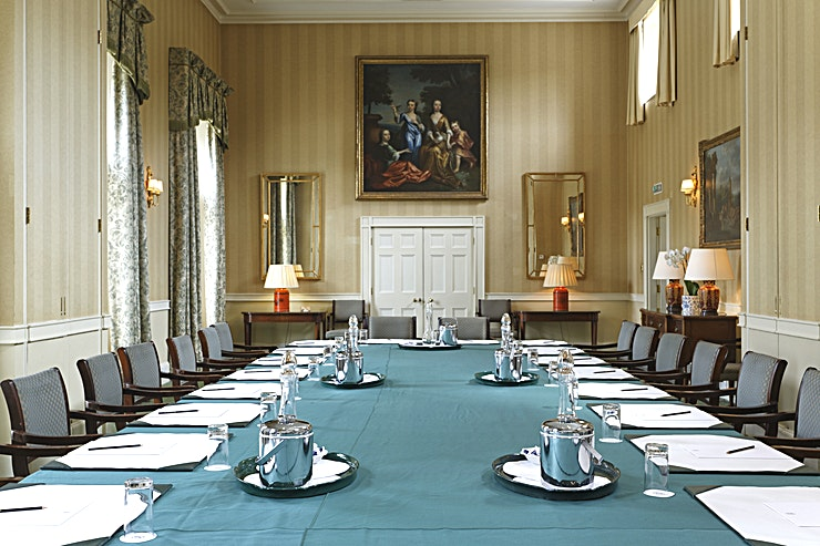 The James Gibbs and James Wyatt Meeting rooms **Hire The James Gibbs and James Wyatt Meeting rooms at Hartwell House Hotel & Spa for your next venue to hire in London.**