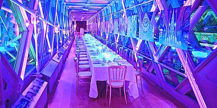 Walkway 1 **Book Walkway 1 at London Bridge for one of the most unique venue hire London has to offer! **  42 metres above the River Thames, the North and South Towers of the award-winning high-level Walkways