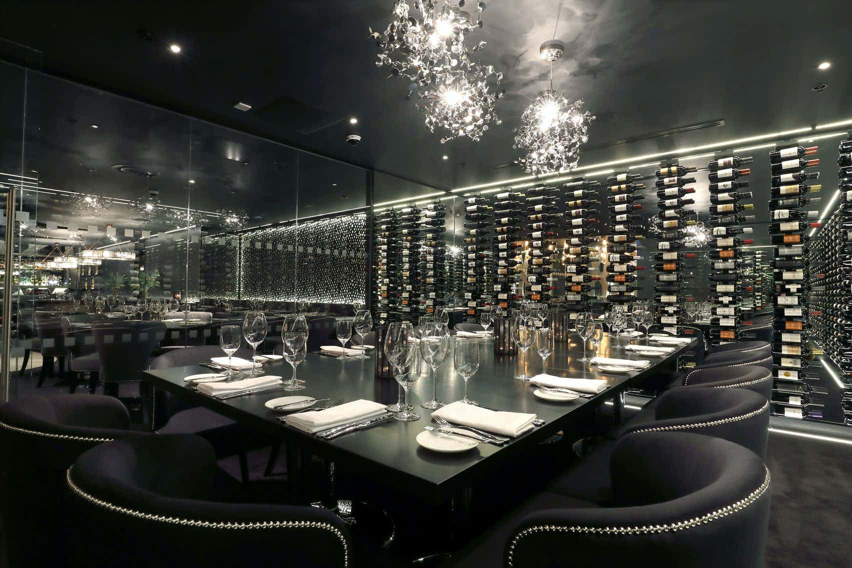 Private Wine Room, Gaucho Edinburgh