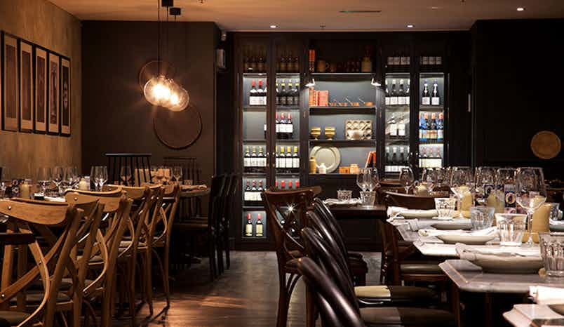 Main dining room, Brasserie Blanc, Southbank