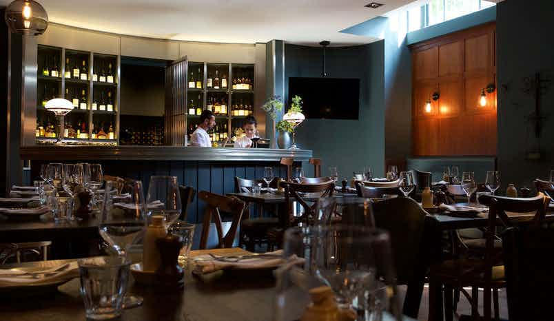 Private dining room, Brasserie Blanc Tower Hill