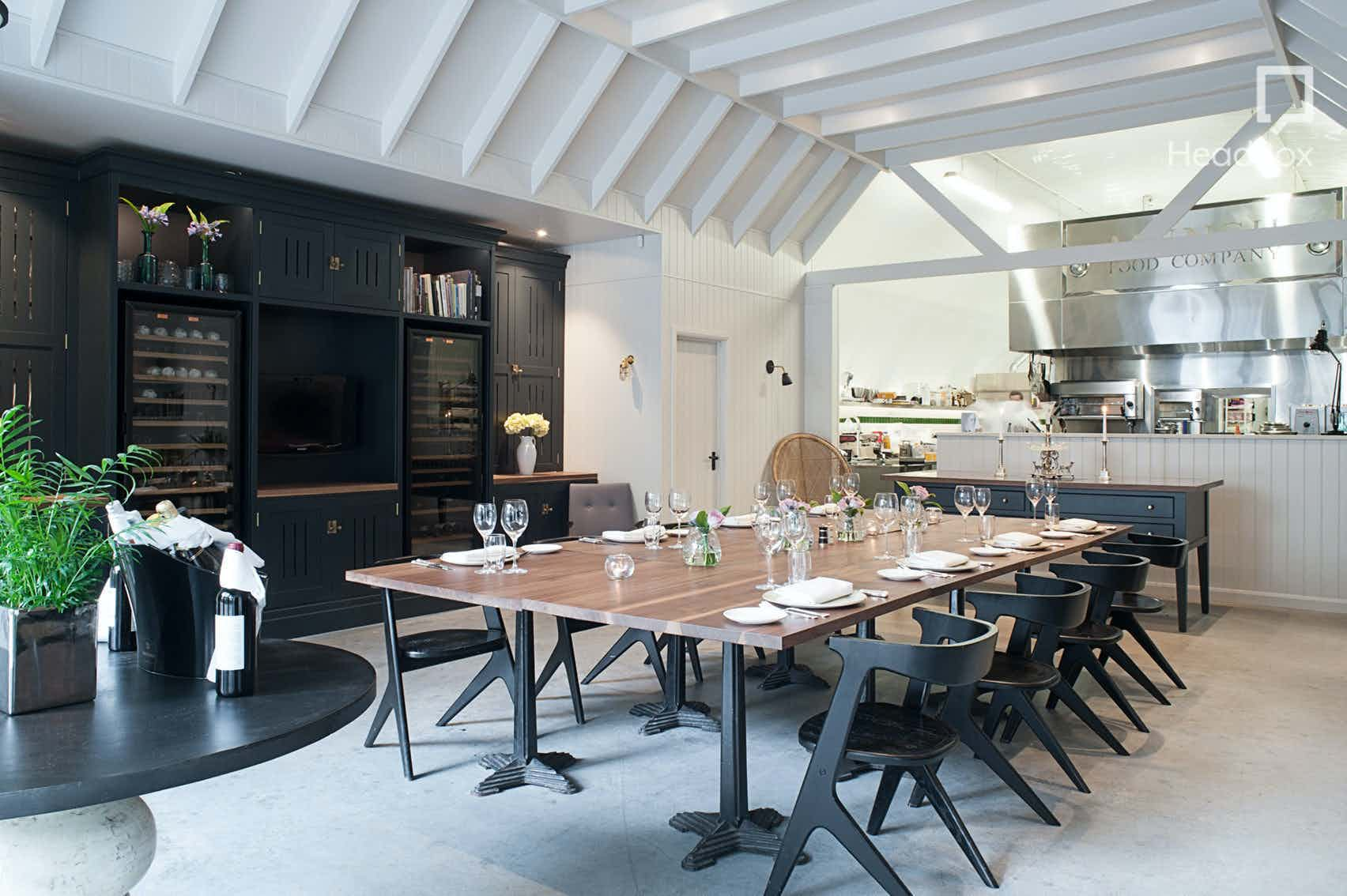Private Dining Rooms, Arch 65