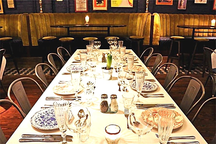 The Boston Room **Take over our 200 capacity Boston room for the evening and enjoy a private venue hire for your next corporate event in one of Chiswick's best function rooms!**
