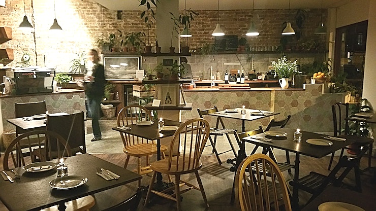 Dining space **Hire the dining space at Footnote for one of the best options for private dining London has to offer!**   Welcome to Footnote – a brunch place that simply wants to offer goodness. That means provi