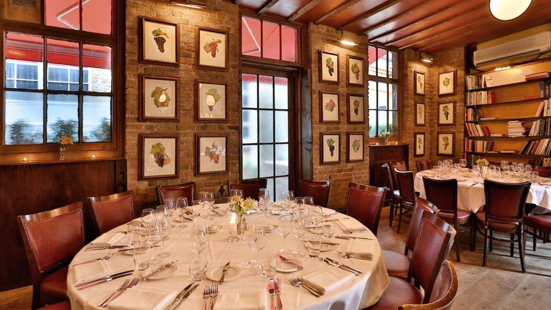 Terrace Room, Bleeding Heart Restaurant