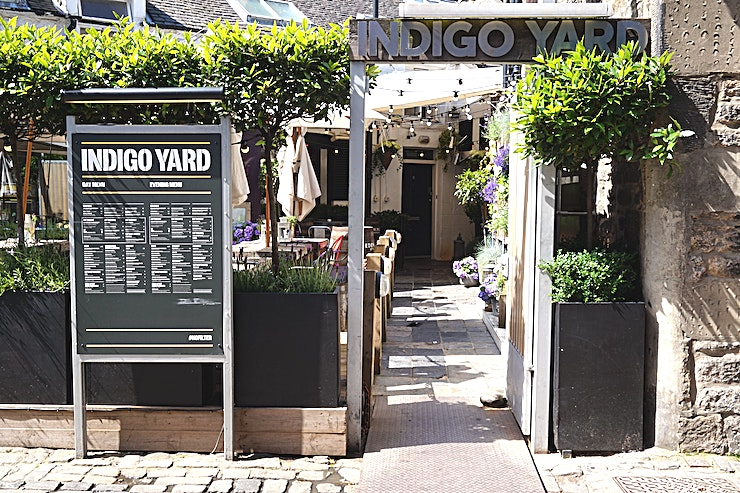 Exclusive full Private hire **Exclusively hire the Indigo Yard for your next venue to hire in Edinburgh.**   Indigo Yard located at the West End in Edinburgh is available for full exclusive private hire. You can hire out your very own city centre venue and the Indigo Yard team can tailor any event you wish - Indigo Yard can make it happen! The Indigo Yard has a 150pax capacity for a sit-down meal or a 450pax capacity for a full venue standing reception so if it's a big Christmas party or celebration - Indigo Yard is the venue in Edinburgh for you.  Indigo Yard in Edinburgh comes fully equipped with everything you need for a successful event. Indigo Yard can even facilitate music, live music and DJ set up for an event that won't be forgotten in a hurry. No matter what you need, Indigo Yard can supply - including TV screens, mic's and more.