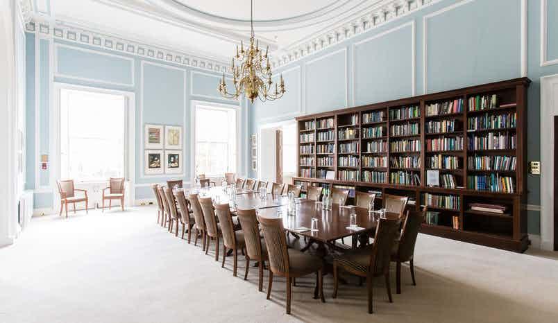Reading Room, {10-11} Carlton House Terrace