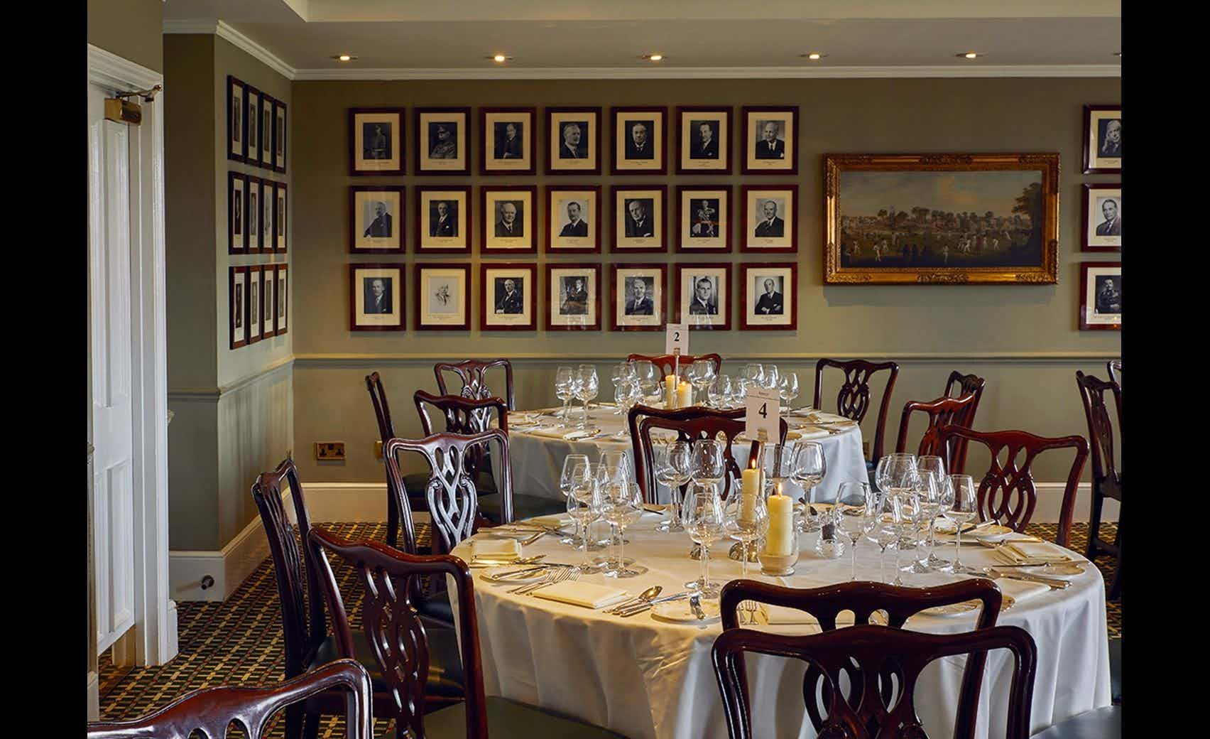 Committee Dining Room, Lord's Cricket Ground