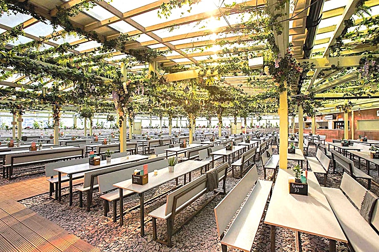 Whole Venue **Pergola Paddington is a fantastic venue set in the heart of Paddington Central accommodating up to 850 guests.**