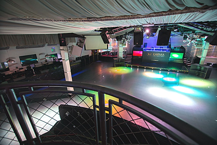 Main Room **Hire the Main Room at Karma Night Club for your next corporate party!**
