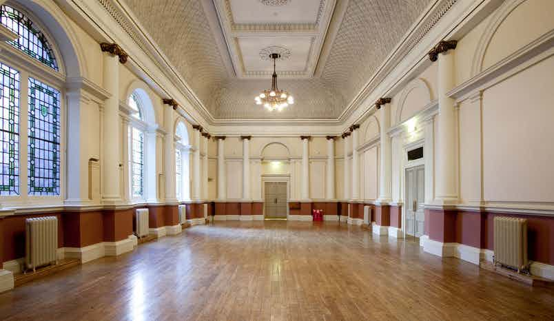 Council Chamber, Shoreditch Town Hall