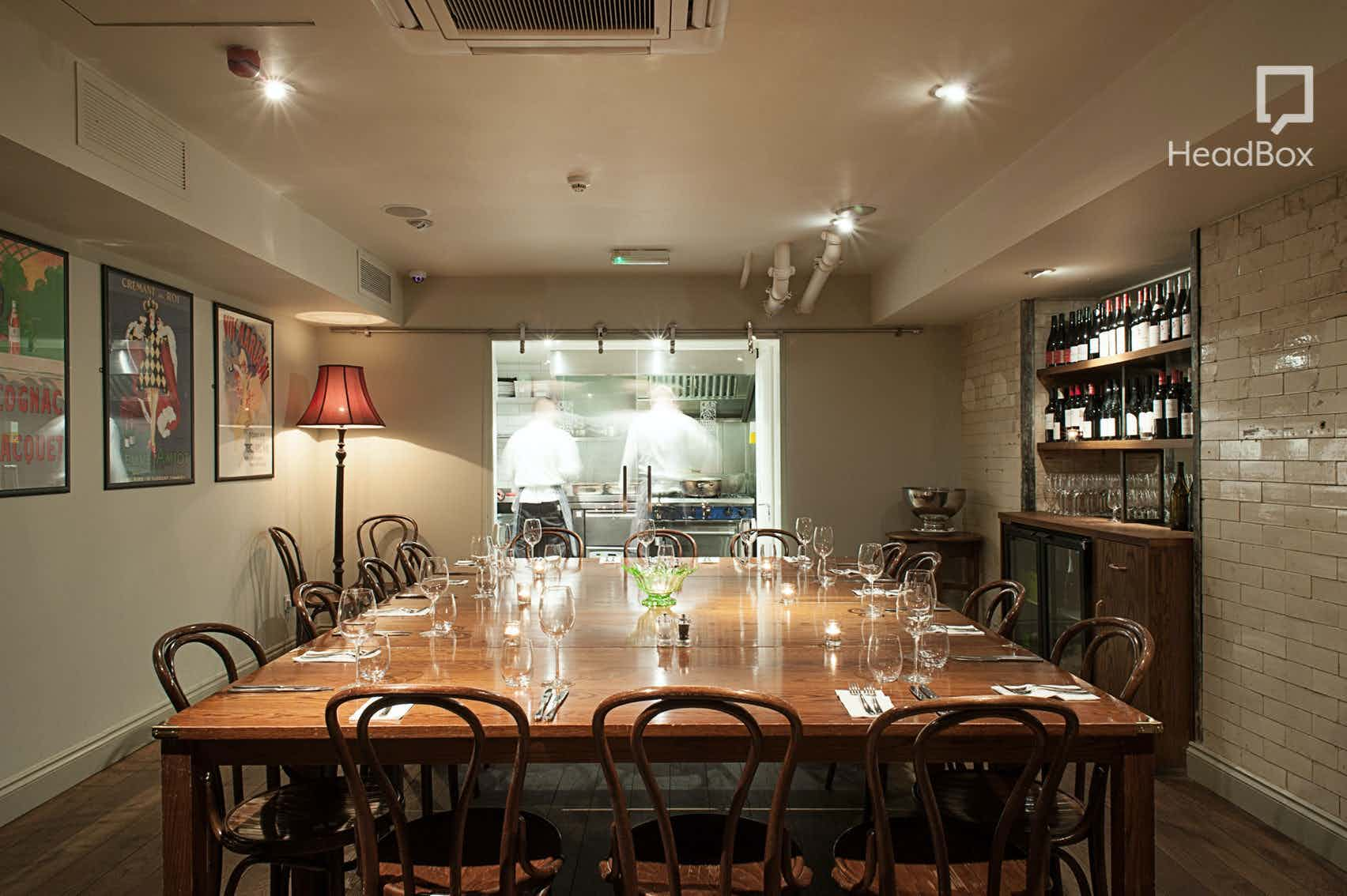 Private Room, Vinoteca Farringdon