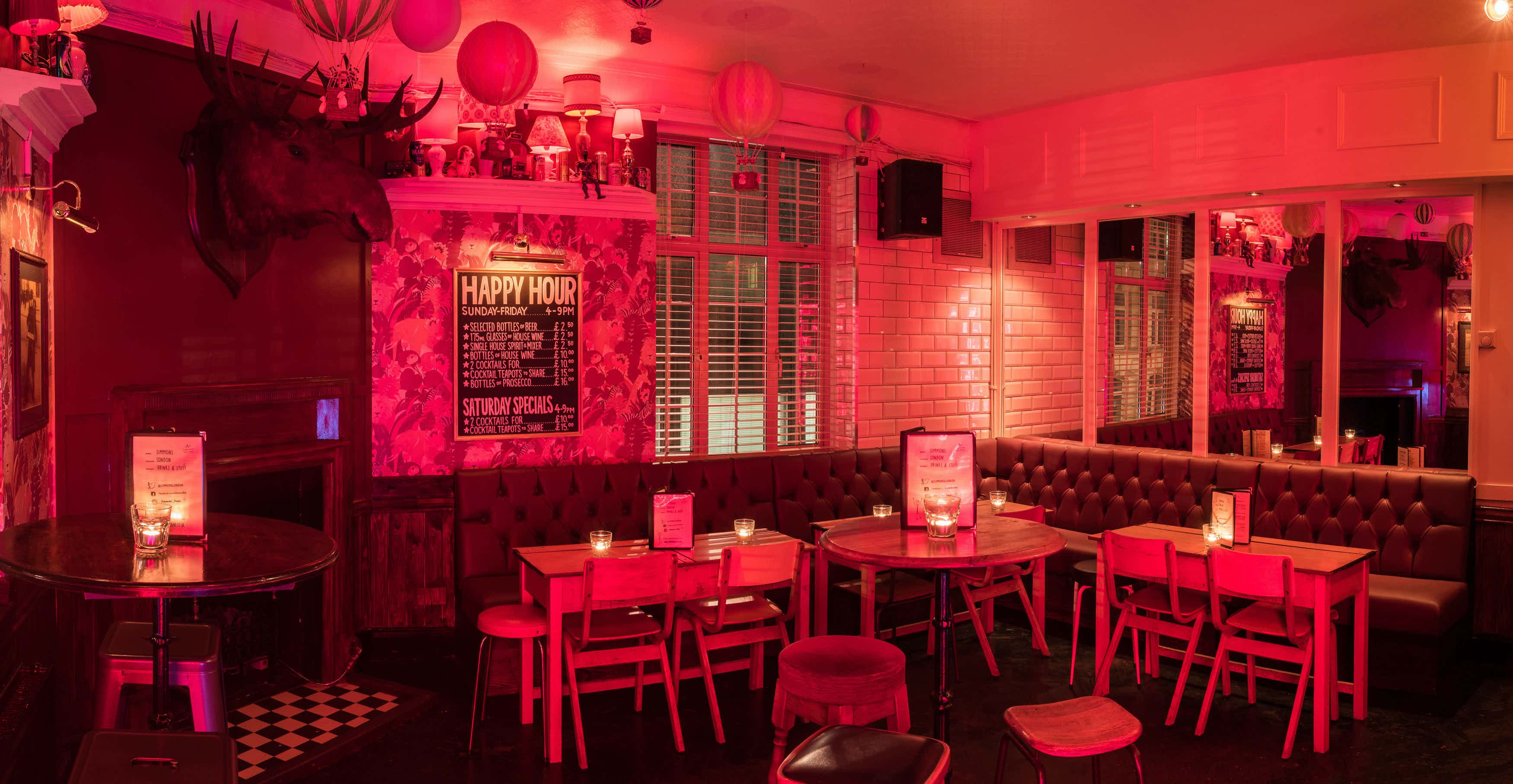 Function Room Hire, Simmons | Euston Square