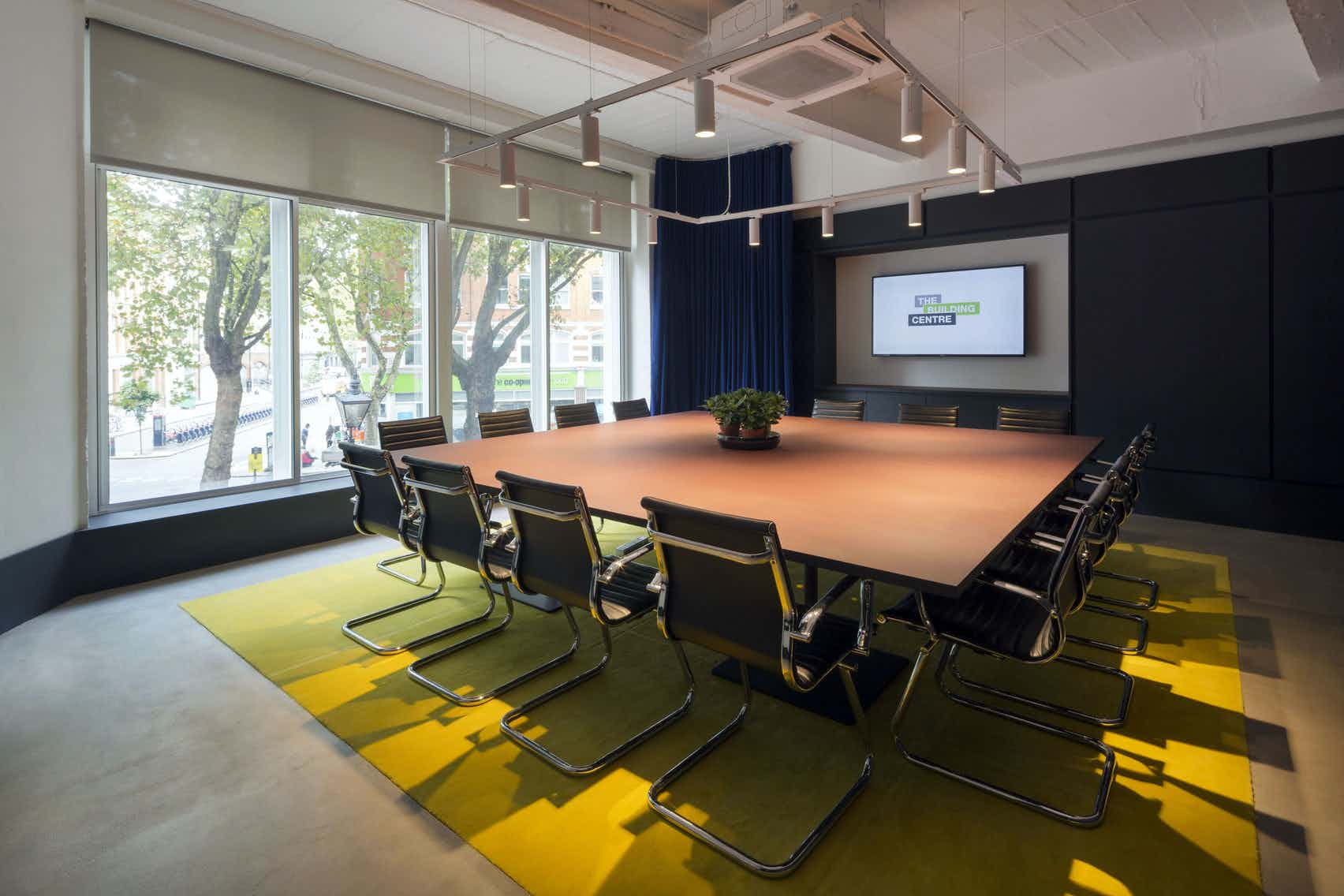Morning Hire, Boardroom, The Building Centre