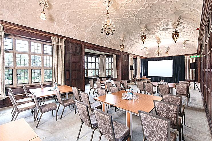 The Long Gallery **Hire The Long Gallery at Fanhams Hall for a versatile venue hire in Hertfordshire**