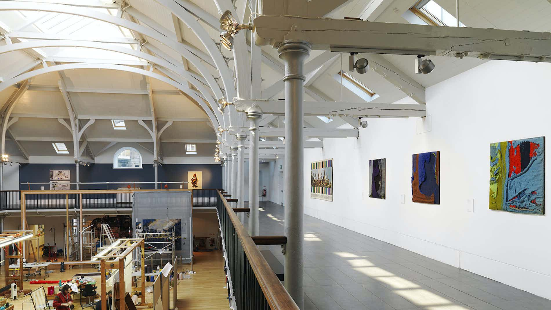 Viewing Balcony, Dovecot Studios