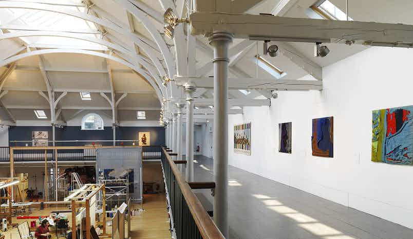 Viewing Balcony, Dovecot Studios