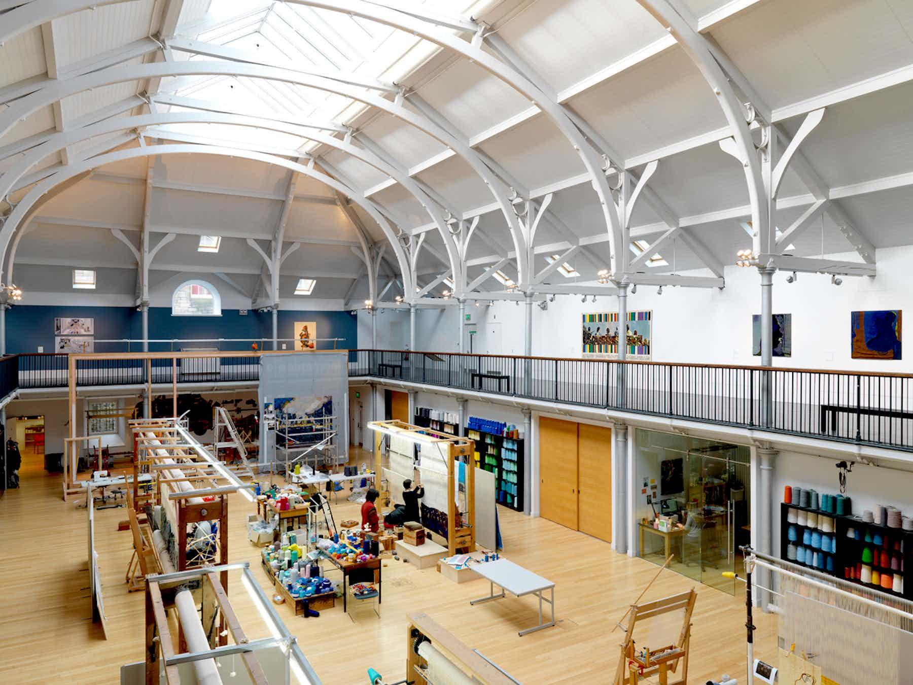 Weaving Floor, Dovecot Studios