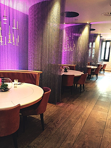The Lane **The Lane is a great option for venue hire Edinburgh**  Great semi private space for morning networking events Projector and mic in place already  Up to 60pax theatre style seating