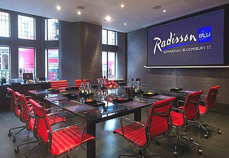Private Room 1 **Radisson Blu Edwardian, Bloomsbury Street have your next meeting room hire in London sorted!**