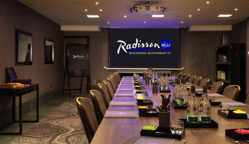 Private Room 3, Radisson Blu Edwardian, Bloomsbury Street