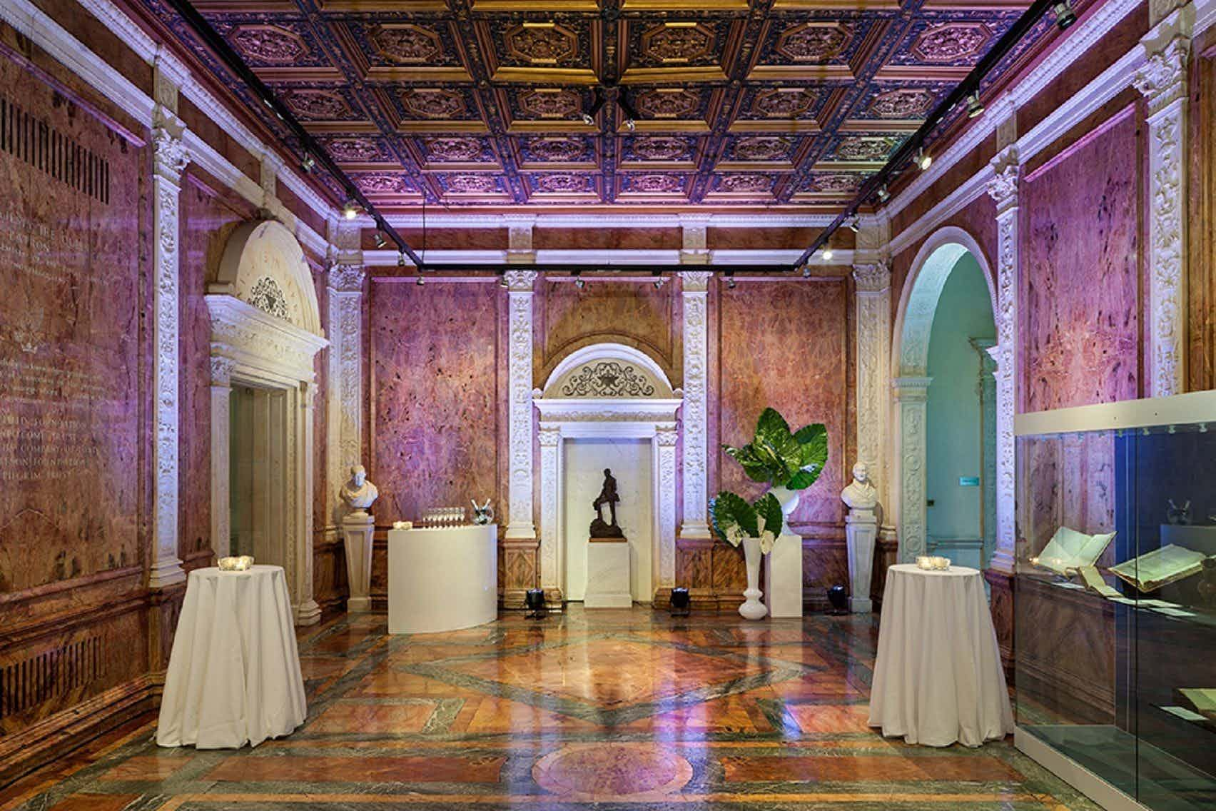 The Marble Hall., The Royal Society