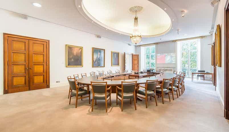 Council room., The Royal Society