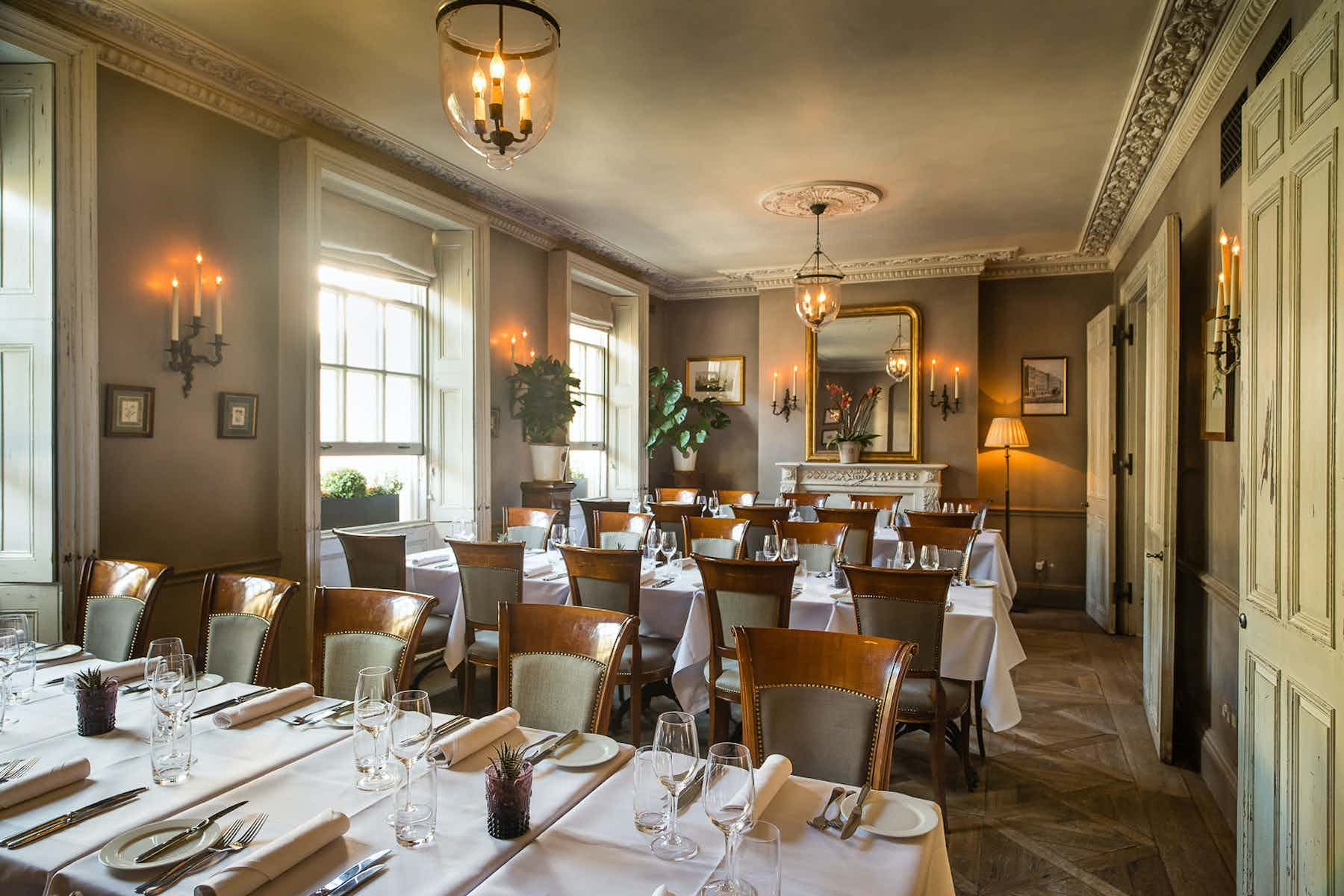 Main & Small Dining Room, The Thomas Cubitt