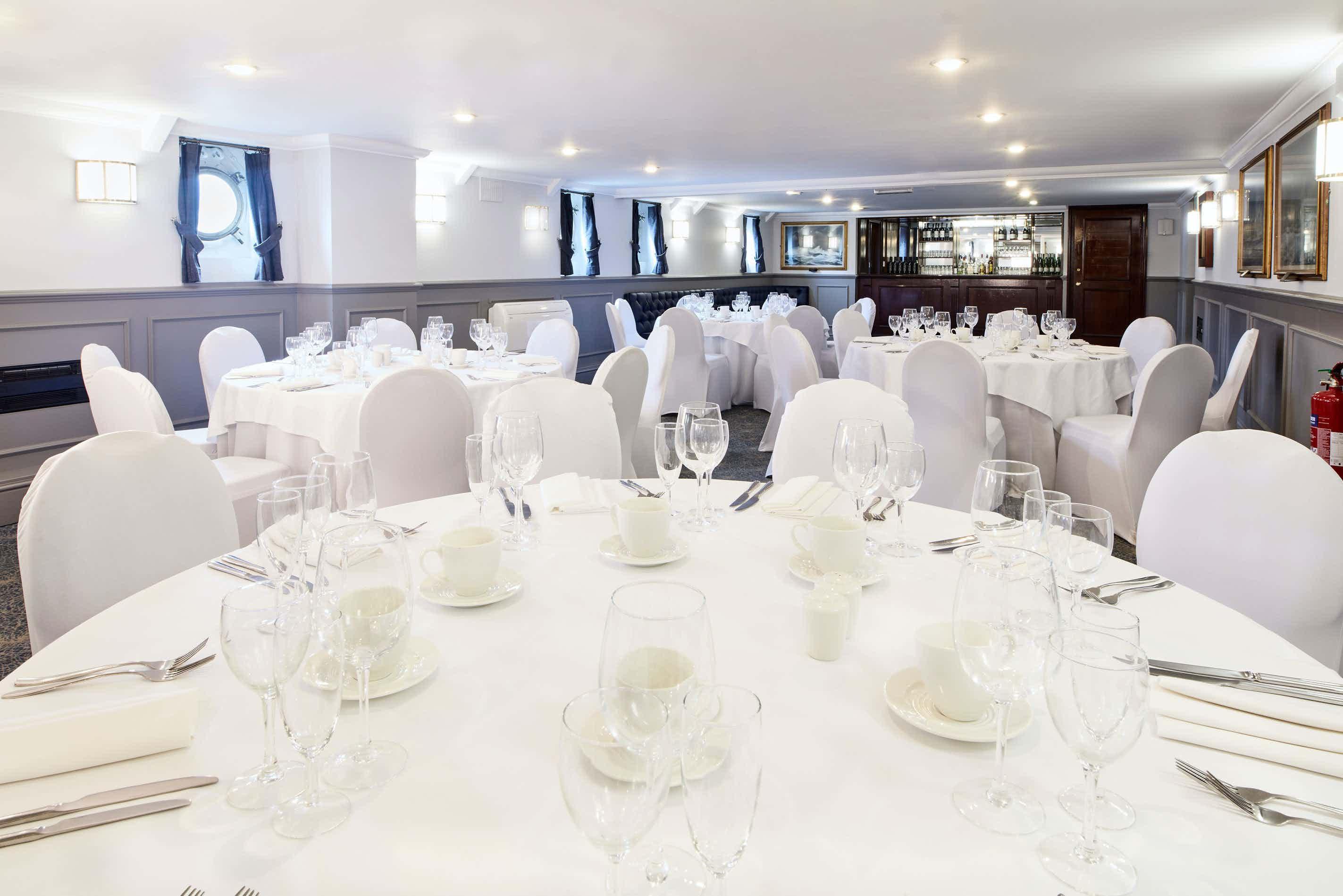 The Morgan Giles Room, HMS Belfast