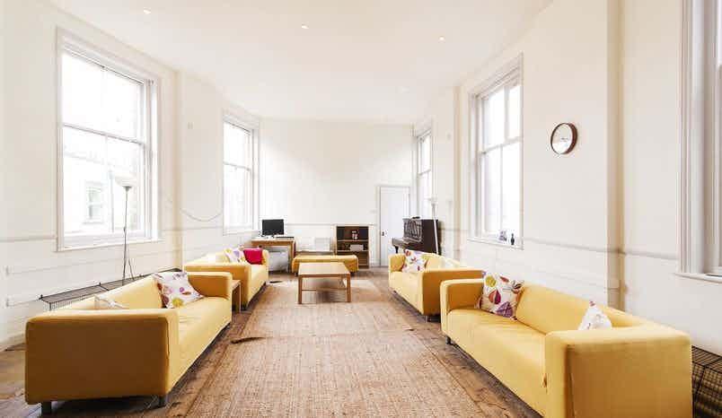 Mary Wollstonecraft Room, Newington Green Meeting House, New Unity